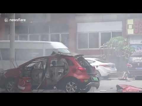 Elektryczny samochód wybuchł podczas ładowania. Czy na pewno są bezpieczne?