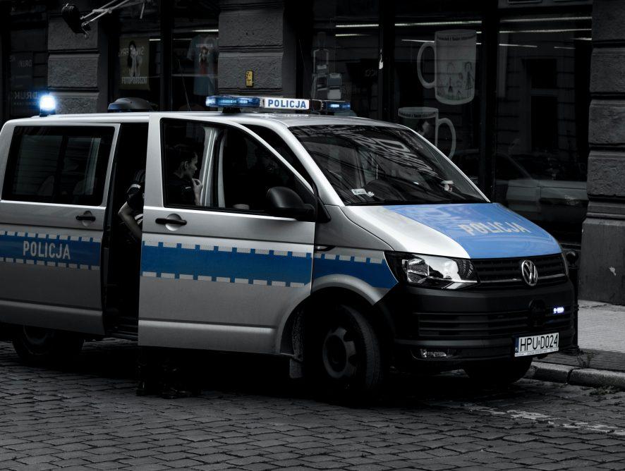 Zderzenie busów w Świdniku. Jedna osoba nie żyje, sześciu rannych