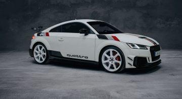 Edycja limitowana. Audi TT RS z okazji 40. urodzin modelu quattro