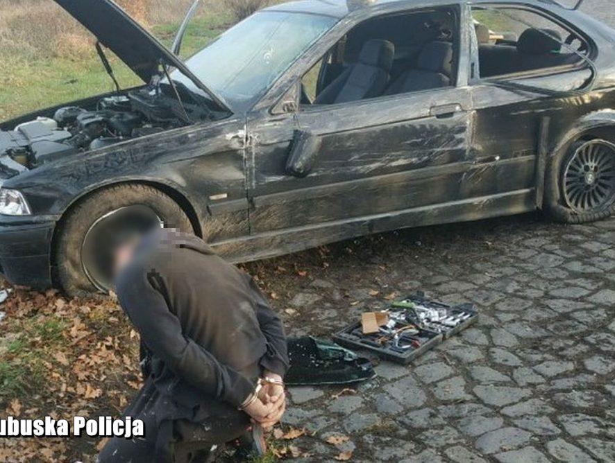 Szalony pościg. Zatrzymano  28-letniego kierowcę BMW