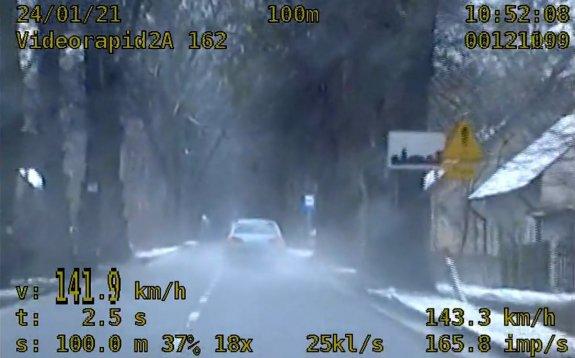 Opole. 30-latek pędził z prędkością 150 km/h na obszarze zabudowanym