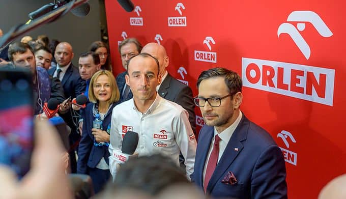 Robert Kubica weźmie udział w warszawskiej prezentacji bolidu Alfy Romeo