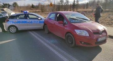 Policyjny pościg. Kierowca Toyoty tymczasowo aresztowany [NAGRANIE]