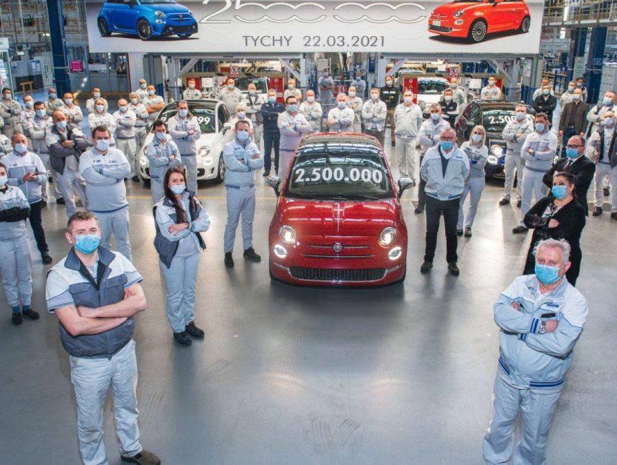Tychy. Dwuipółmilionowy Fiat 500 zjechał z linii montażowej!