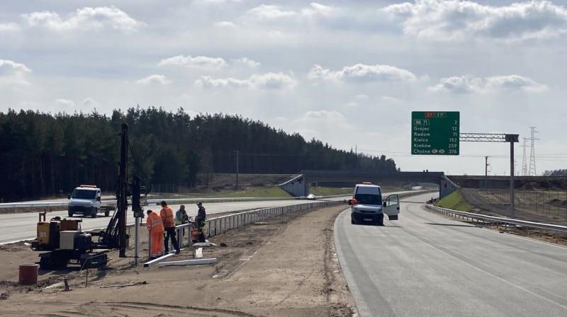 GDDKiA wyłoniło wykonawcę południowego wylotu z Warszawy