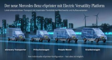 Mercedes Benz eSprinter – co warto wiedzieć o tym modelu?
