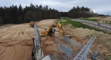 GDDKiA: postęp prac na budowie drogi ekspresowej S5 Ornowo - Wirwajdy