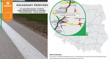 S74: GDDKiA ogłasza przetarg na odcinek od Miniowa do Kielc